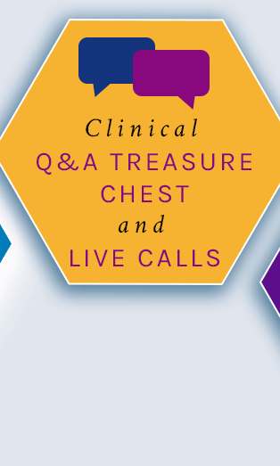 clinical q+a treasure chest